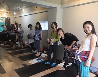 Wave Yoga & Dou Yoga RYT200 養成講座 in 東京